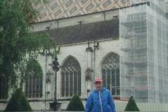 img110 21.5.04 Bourg en Bresse - Cattedrale di Brou -ha appena smesso di piovere, ma riprenderà subito - Foto a ricordo di un viaggio precedente