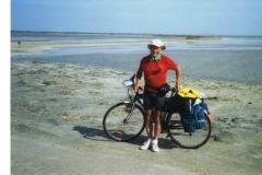 img113 11.5.2005 La Camargue, il percorso me lo ha 'consigliato' una ragazza all'Ente Turismo di Sakin de Giraud ...
